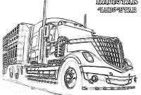 Tractor Trailer Coloring Pages - Sitemap Play & Learn
