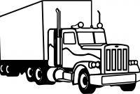 Tractor Trailer Coloring Pages - Tractor Trailer Coloring Pages Beautiful Semi Truck Coloring Pages