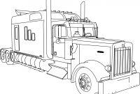 Tractor Trailer Coloring Pages - Tractor Trailer Coloring Pages Coloring Pages Coloring Pages