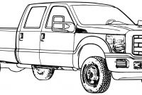 Truck and Trailer Coloring Pages - ford Truck Coloring Pages 01 Coloring Pages Pinterest