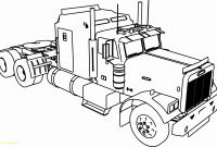 Truck and Trailer Coloring Pages - Tractor Trailer Coloring Pages Beautiful Semi Truck Coloring Pages