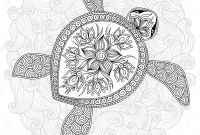 Turtle Coloring Pages - Inspirational Abstract Turtle Coloring Pages Katesgrove
