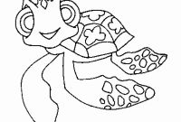 Turtle Coloring Pages - Unique Cartoon Turtle Coloring Cartoon – Doyanqq