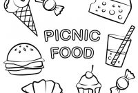 Unhealthy Food Coloring Pages - Download Coloring Pages Junk Food