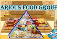 Unhealthy Food Coloring Pages - Food Pyramid the 5 Different Food Groups Learn the Healthy