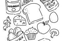Unhealthy Food Coloring Pages - Health Coloring Pages Inspirational Healthy Eating List Of Eating