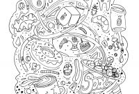 Unhealthy Food Coloring Pages - Junk Food Coloring Pages Coloring Pages Coloring Pages