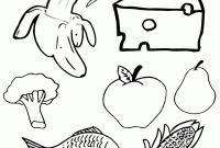 Unhealthy Food Coloring Pages - Junk Food Coloring Pages Printable Junk Food 85by11 Coloring Page