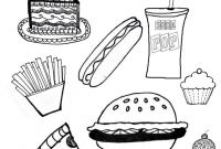 Unhealthy Food Coloring Pages - Snack Coloring Pages Democraciaejustica