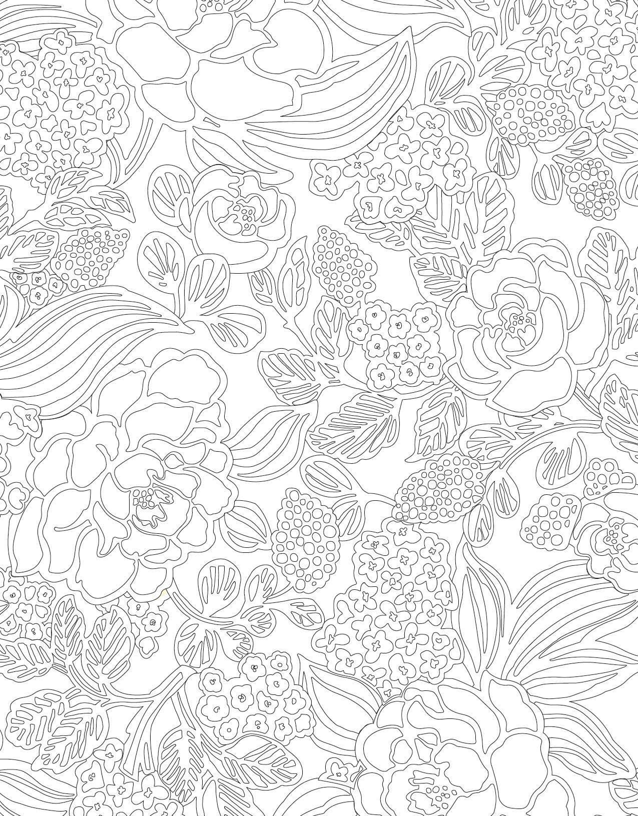 Vera Bradley Coloring Pages  to Print 7e - Save it to your computer