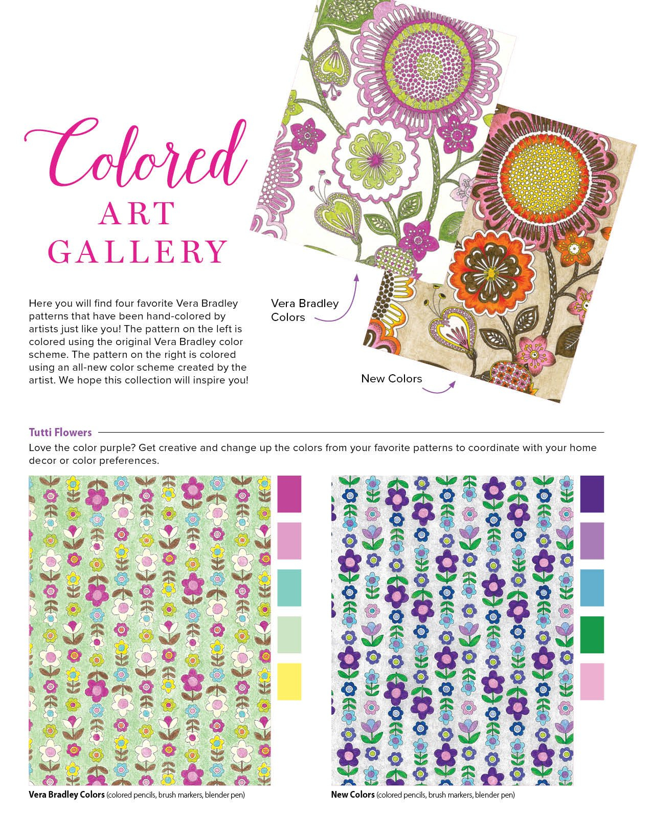 Vera Bradley Coloring Pages  to Print 16c - To print for your project