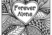 Vera Bradley Coloring Pages - forever Alone Coloring Page