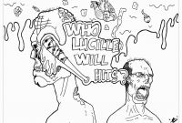 Walking Dead Coloring Pages - Screaming Death Coloring Pages Coloring Pages Coloring Pages