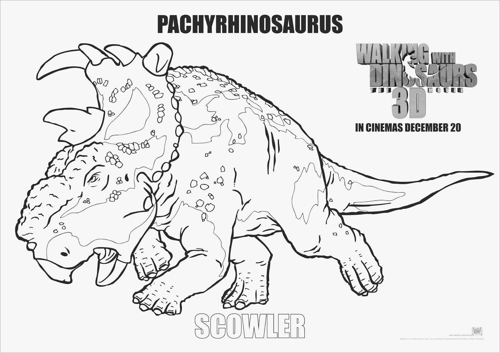 Walking with Dinosaurs Coloring Pages  Printable 15s - Free For kids
