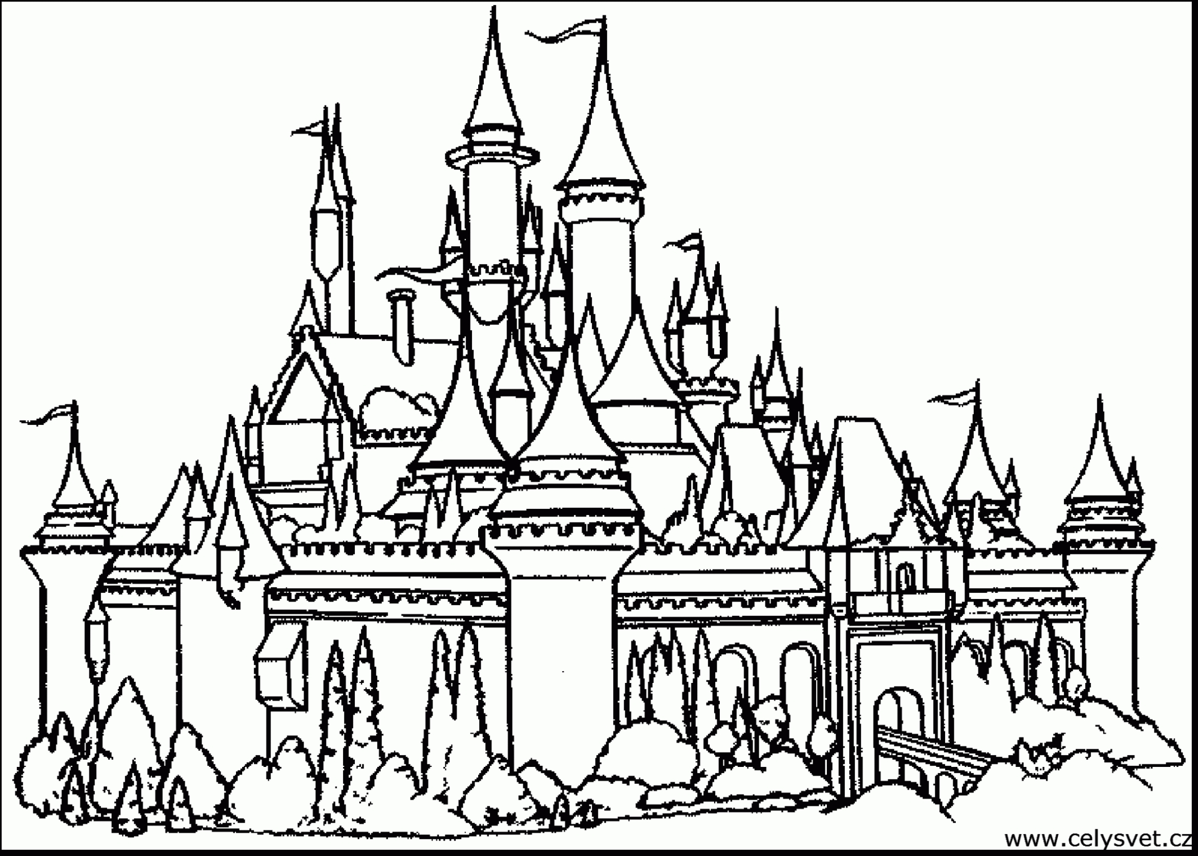 Walt Disney World Coloring Pages  to Print 19a - To print for your project
