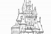 Walt Disney World Coloring Pages - Disney Castle Coloring Page Disney World Coloring Pages Elegant