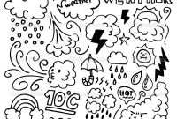 Weather Coloring Pages - Vapor Coloring Pages