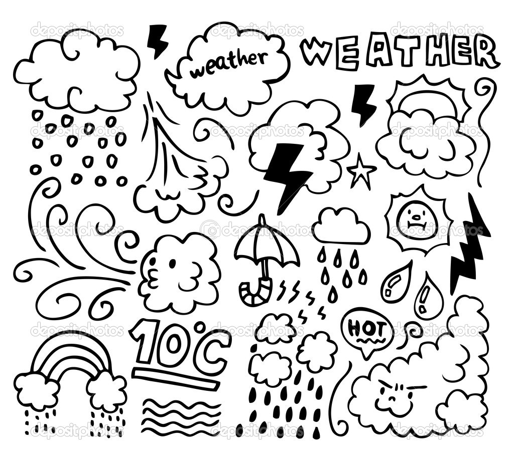 Weather Coloring Pages  Download 11a - Free Download