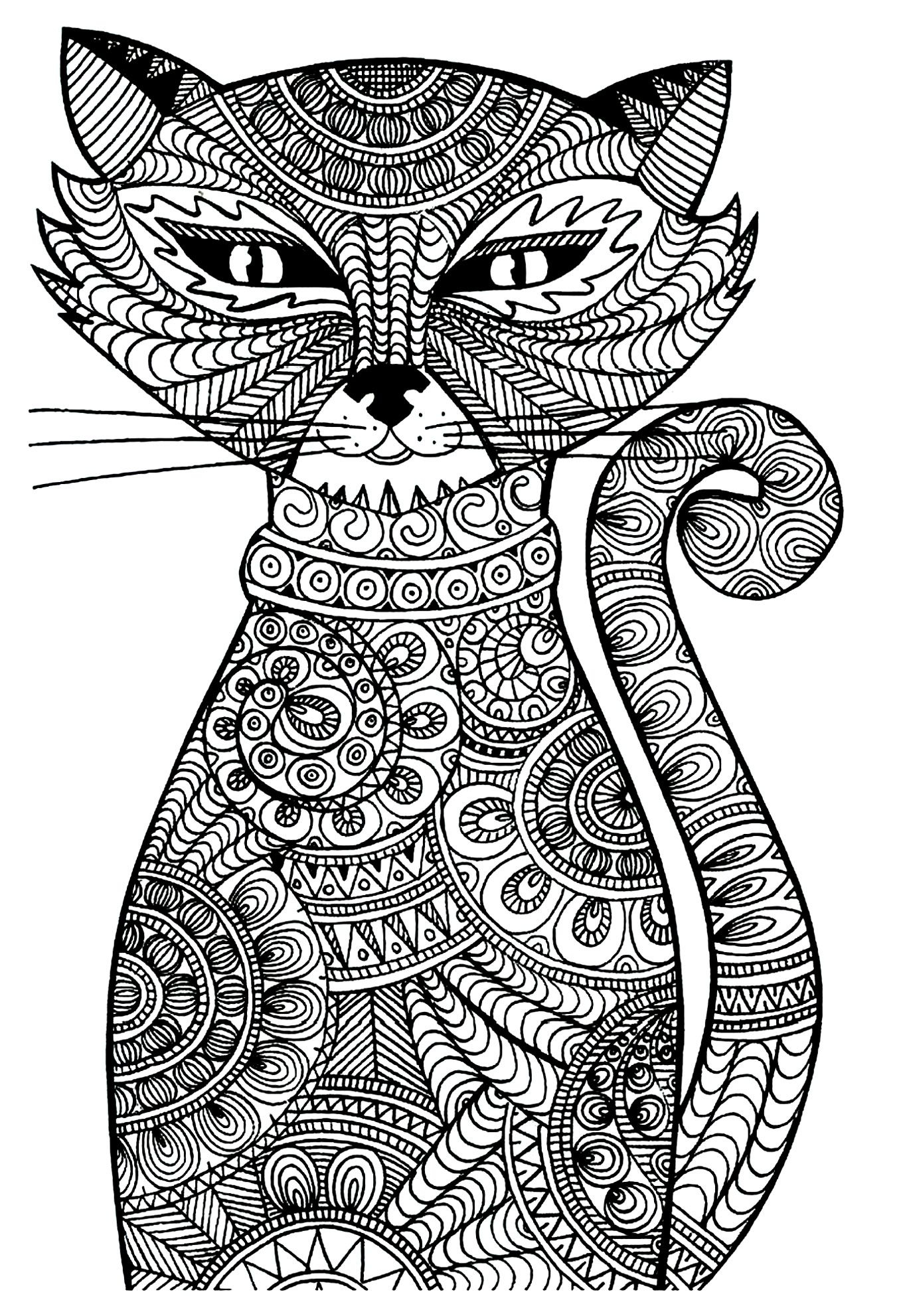 Whisker Haven Coloring Pages  Download 15i - Free For kids
