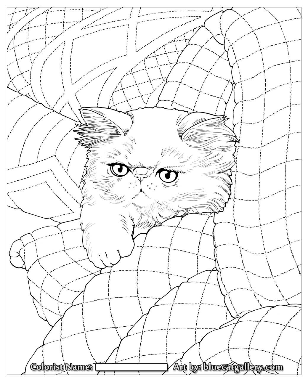 Whisker Haven Coloring Pages Download | Free Coloring Sheets