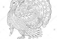 Wild Turkey Coloring Pages - Beautiful Thanksgiving Turkey – Yepigames