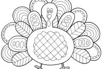 Wild Turkey Coloring Pages - Category Coloring Pages 94