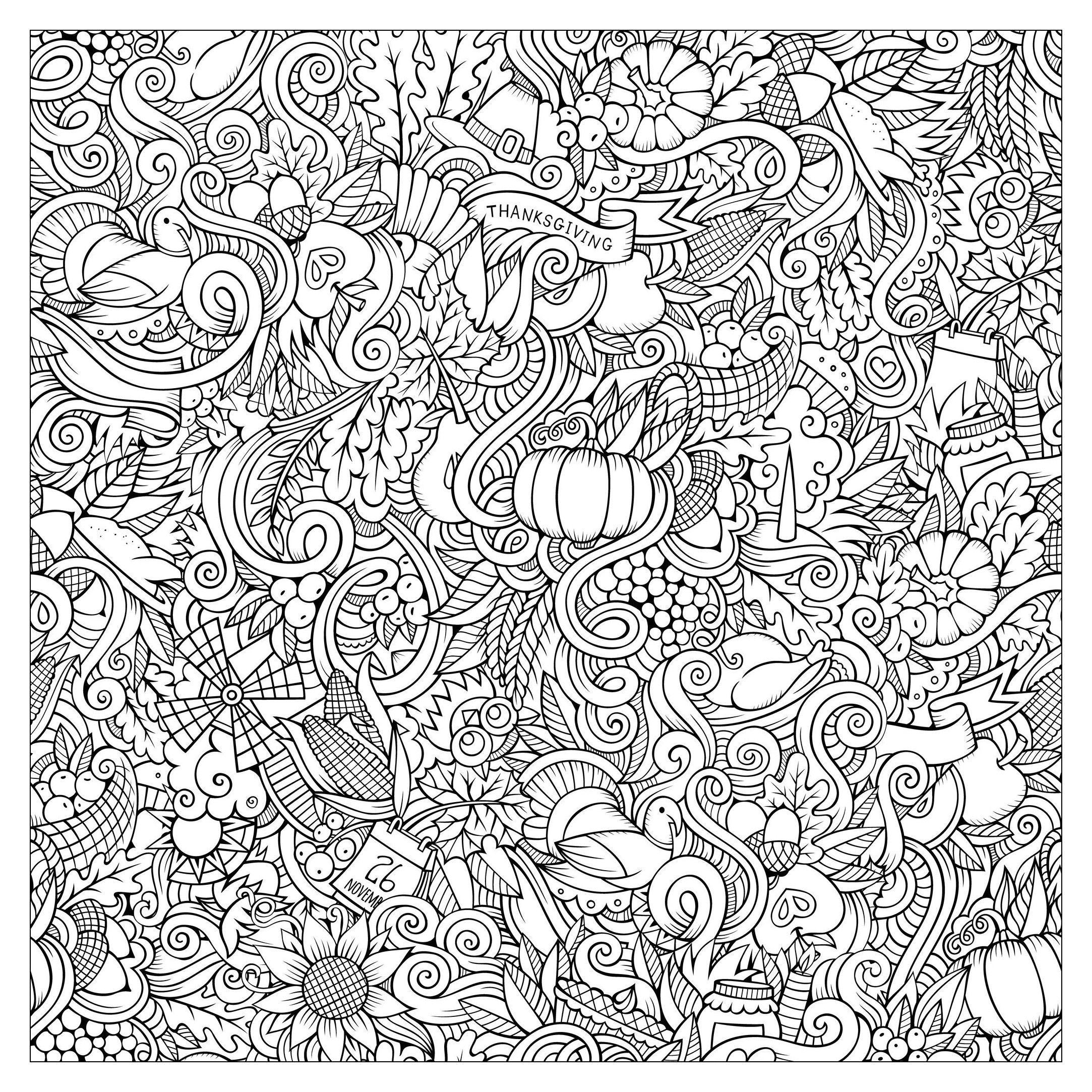 Wild Turkey Coloring Pages Gallery