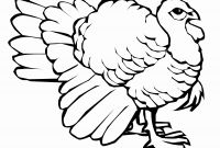Wild Turkey Coloring Pages - Wild Turkey Coloring Page
