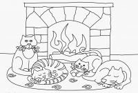 Winter Scene Coloring Pages - 70 Winter Adult Coloring Pages