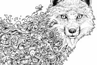Wolf Printable Coloring Pages - Hard Coloring Pages