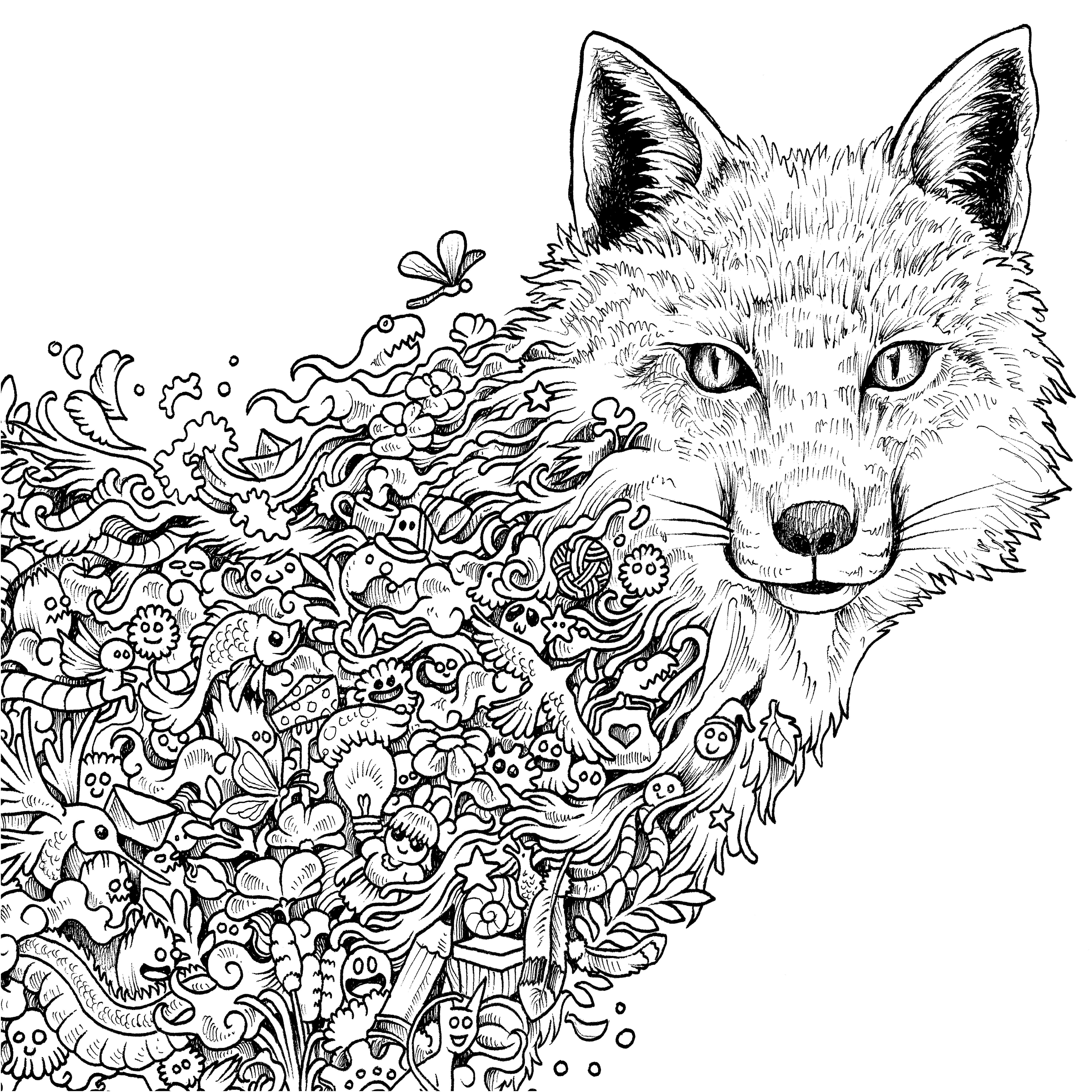 Wolf Printable Coloring Pages Printable | Free Coloring Sheets