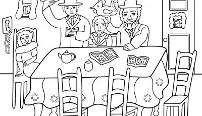 Yom Kippur Coloring Pages - Yom Kippur Kaparot Ceremony Coloring Page
