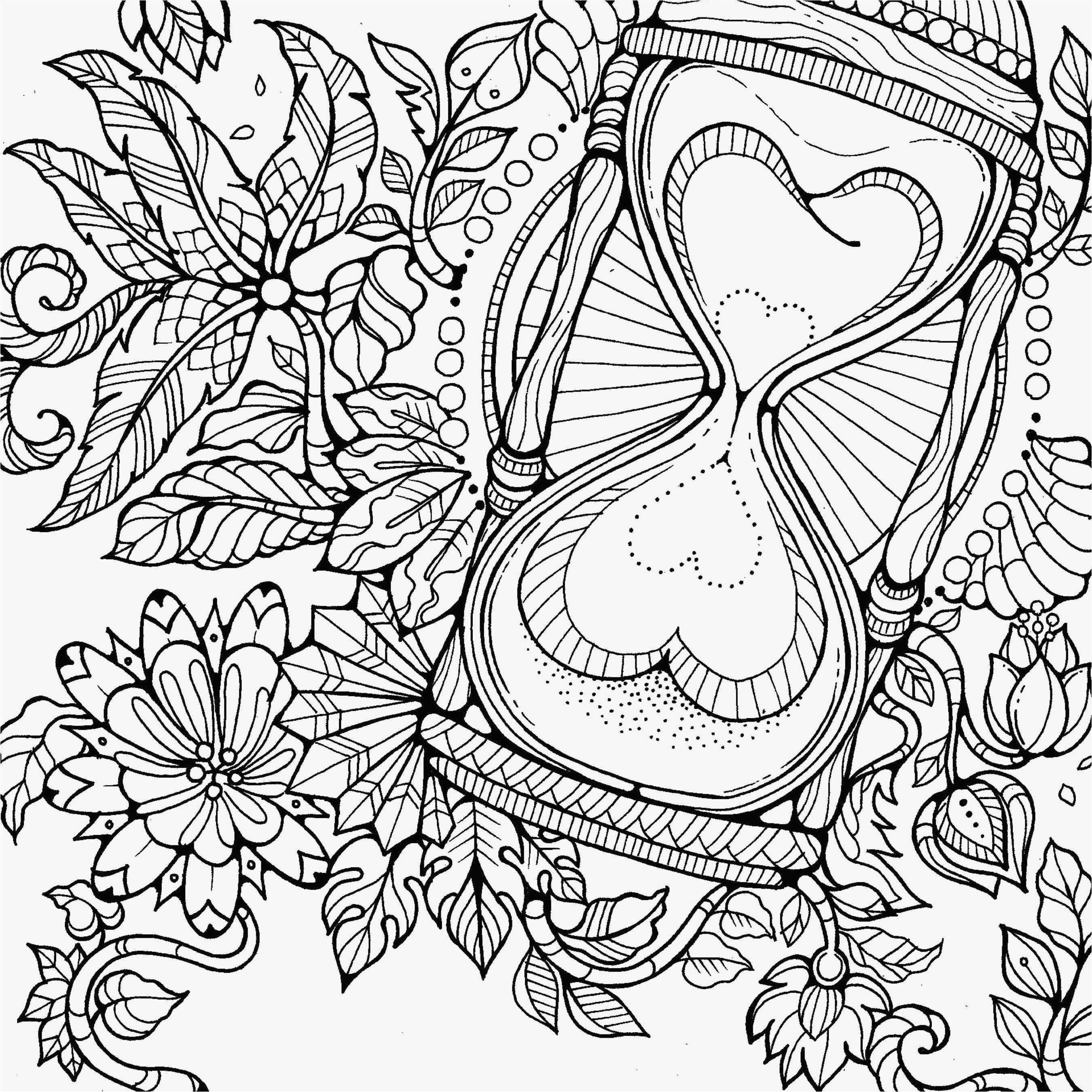 Zentangle Coloring Pages  Printable 9d - Free For kids