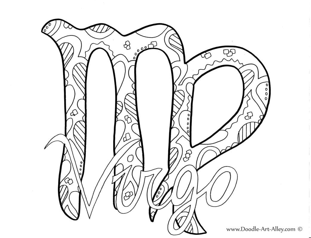 Zodiac Signs Coloring Pages  to Print 18l - Free For Children