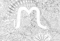 Zodiac Signs Coloring Pages - Zodiac Sign Scorpio Ethnic Floral Geometric Doodle Pattern Coloring